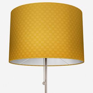 Tissus Berlin Damier Jaune Lamp Shade