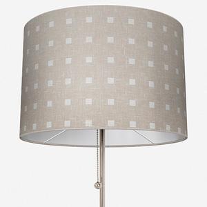 Tissus Berlin Pastilles Blanc Lamp Shade