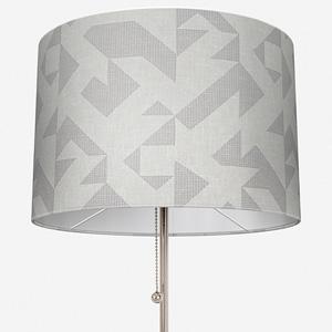 Tissus Berlin Puzzle Gris Lamp Shade