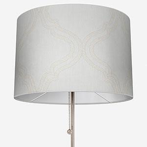 Tissus Manosque Volute Blanc Lamp Shade
