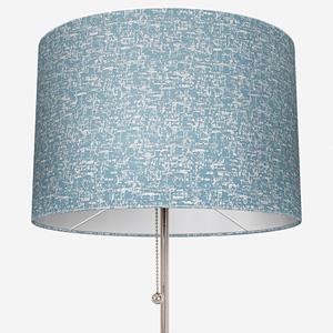 Casadeco Tissus Paso Doble Uni Cobalt Lamp Shade