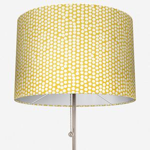 Spotty Ochre Lamp Shade