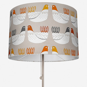 Cluck Cluck Tangerine Lamp Shade