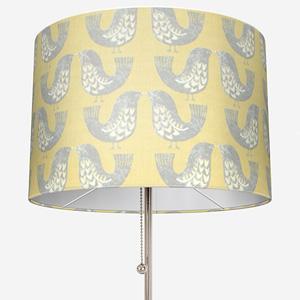 iLiv Scandi Birds Mustard Lamp Shade