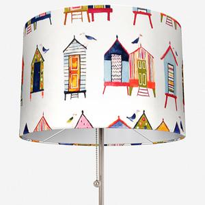 Beach Hut Neopolitan Lamp Shade