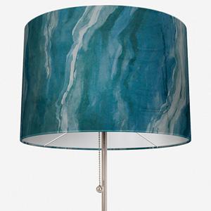 Lava Teal Lamp Shade
