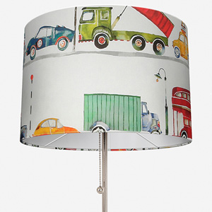 On the Road Paintbox Lamp Shade