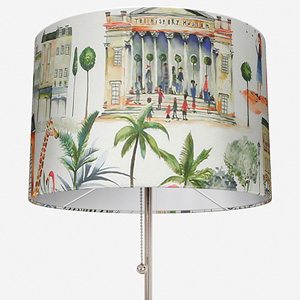 Out and About Paintbox Lamp Shade