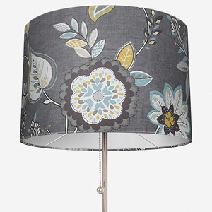 Studio G Octavia Charcoal/Chartreuse Lamp Shade