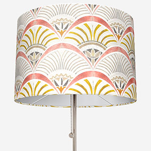 Touched By Design Afro Deco Blush & Olive Lamp Shade