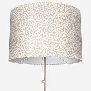 Touched By Design Ficus Leaf Natural Linen Lamp Shade