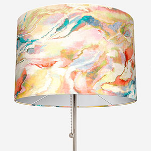 Touched By Design Modernist Inky Coral Lamp Shade