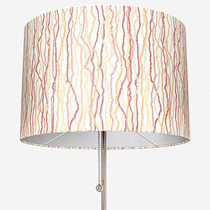 Touched By Design Squiggle Blush & Spice Lamp Shade