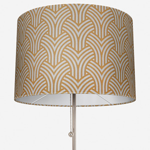 Touched By Design Trio Geo Print Ochre Lamp Shade
