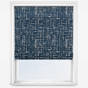 Ashley Wilde Mikkel Navy Roman Blind