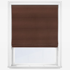 Touched by Design Accent Mocha Roman Blind