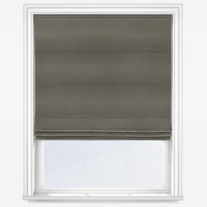 Touched by Design Accent Pewter Roman Blind