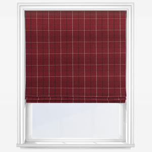 Fryetts Bamburgh Red Roman Blind