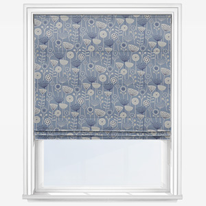 Fryetts Bergen Blue Roman Blind
