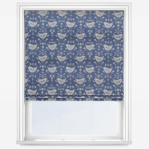 Fryetts Narvik Blue Roman Blind