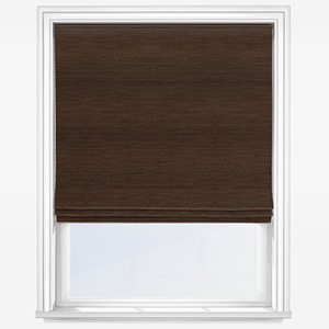 Fryetts Toronto Chocolate Roman Blind