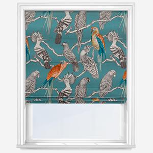 iLiv Aviary Lagoon Roman Blind