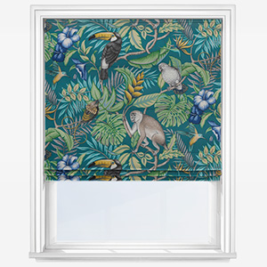 iLiv Rainforest Lagoon Roman Blind