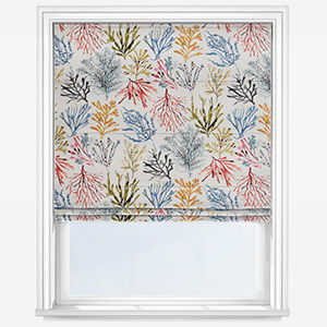 Prestigious Textiles Coral Tropical Roman Blind
