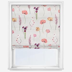 Prestigious Textiles Flower Press Peach Blossom Roman Blind