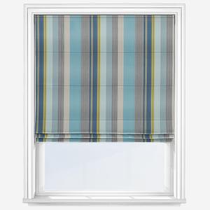 Prestigious Textiles Twist Indigo Roman Blind