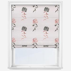 Sonova Studio Flora Bloom Blush Pink Roman Blind