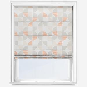 Sonova Studio Kolken Coral Sunrise Roman Blind