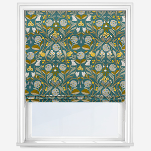 Studio G Forester Forest Chartreuse Roman Blind