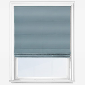 Touched By Design Accent Blue Roman Blind