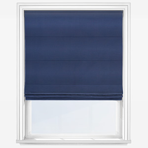 Touched By Design Accent Navy Roman Blind
