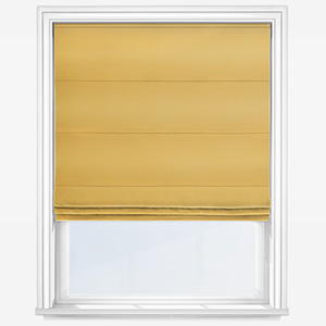 Touched By Design Accent Ochre Roman Blind