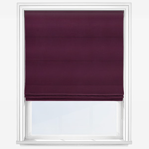 Touched By Design Accent Plum Roman Blind