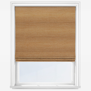 Touched by Design All Spring Umber Roman Blind