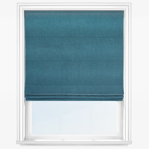 Touched By Design Dales Ocean Blue Roman Blind