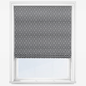 Touched By Design Diamond Grey Roman Blind