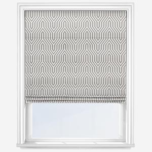 Touched By Design Elvas Silver Roman Blind