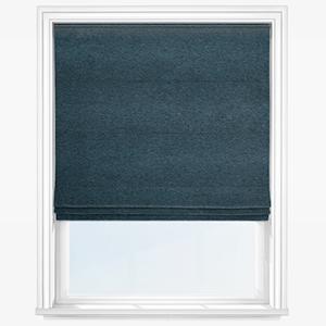 Touched By Design Entwine Denim Blue Roman Blind
