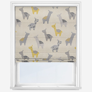 Touched By Design Lama Treck Banana Roman Blind