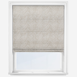 Touched By Design Lovisa Natural Linen Roman Blind
