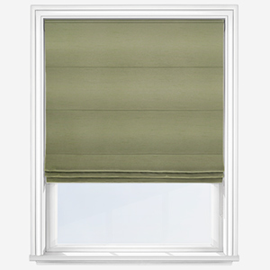 Touched By Design Luxe Faux Silk Apple Roman Blind