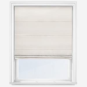 Touched By Design Luxe Faux Silk Oyster Roman Blind