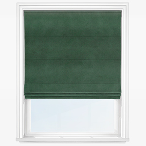 Touched By Design Manhattan Forest Green Roman Blind