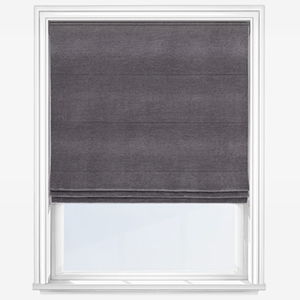 Touched By Design Milan Aubergine Roman Blind