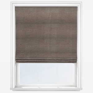 Touched By Design Milan Bosco Brown Roman Blind