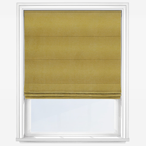 Touched By Design Milan Chartreuse Roman Blind